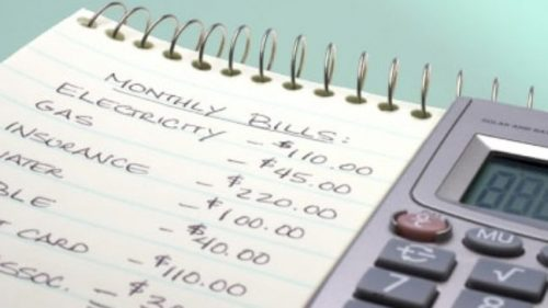 Determine Your Monthly Expenses