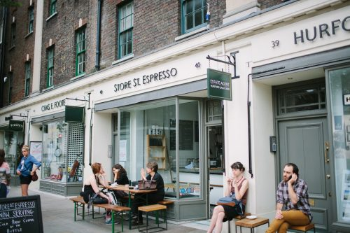 Discovering a proper location at an affordable rate - coffee business