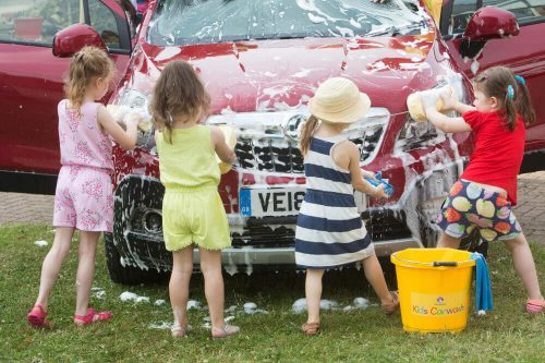 Car Wash Services - Business Ideas for Kids