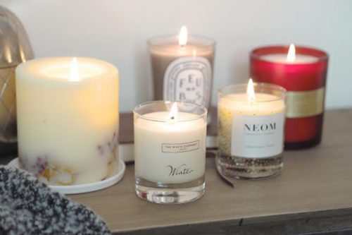 Making Candles - business ideas for women at home
