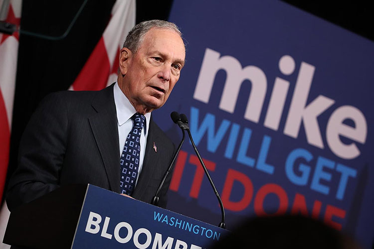 Michael Bloomberg: The Man, The Myth, The Legend.