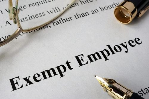 Who is an Exempt Employee?