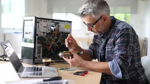 Computer Repair Agency - Tech-Related Business