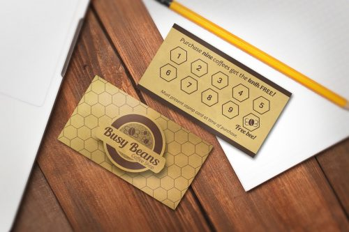 Stamp or Punch Card