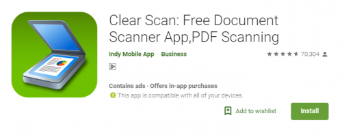 Clear Scanner - Receipt Scanners and Trackers