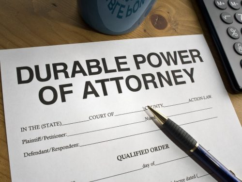 The Use of a Durable Power of Attorney