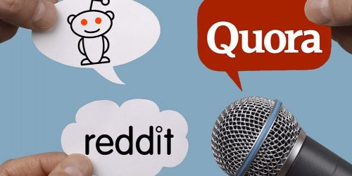 Quora and Reddit - Advertise Your Business Website