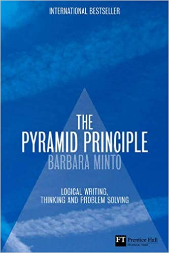 The Pyramid Principle - Consulting Books