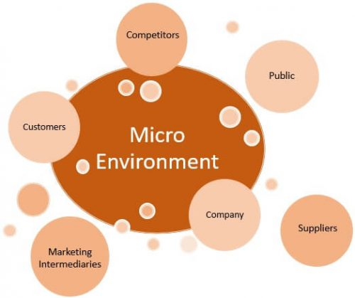 Micro Environment - Components of Business Environment