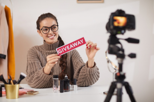 Host a giveaway - Top 10 Best Marketing Campaign Ideas