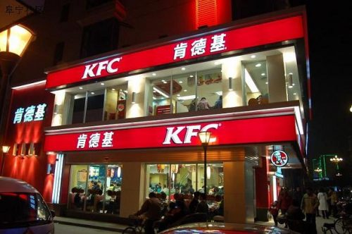 KFC's Entry in China
