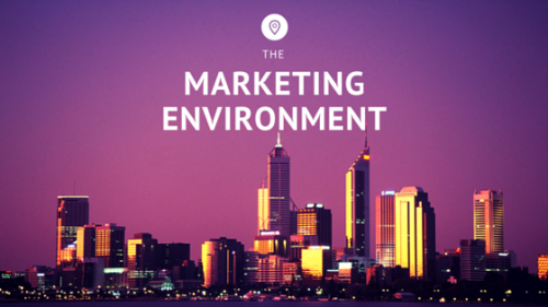 Let's Talk about the Marketing Environment
