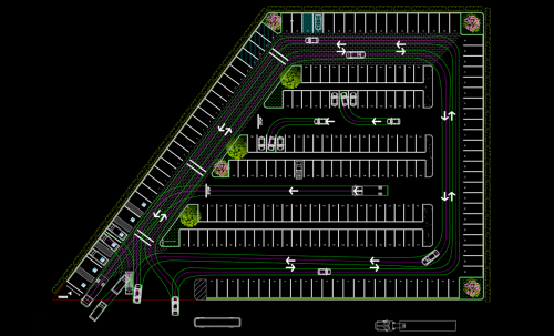 The Benefits of CAD Parking Lot Business